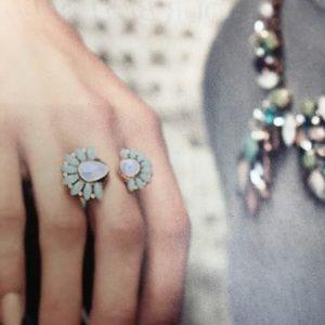 Zinnia Split ring (Stella & Dot) stylist sample